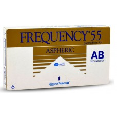 Frequency 55 Aspheric - Monthly Disposable Contact Lens