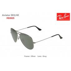 Ray-Ban RB3025 Aviator 003/40 Sunglasses